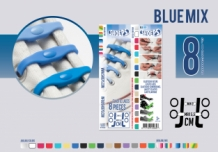 SHOEPS BLUE MIX 8 STUKS